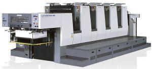Офсетная печатная уф машина KOMORI LITHRONE 428